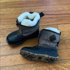 Toddler boy snow boots